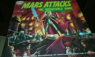MARS ATTAKS The miniatures game