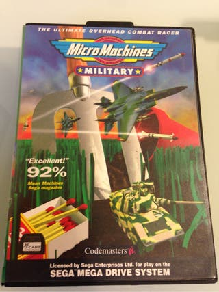 Micro Machines Military Megadrive