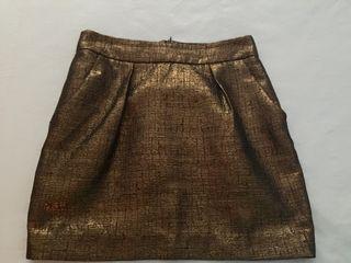 Minifalda Con Brillo
