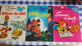3 cómics boule et Bill en frances