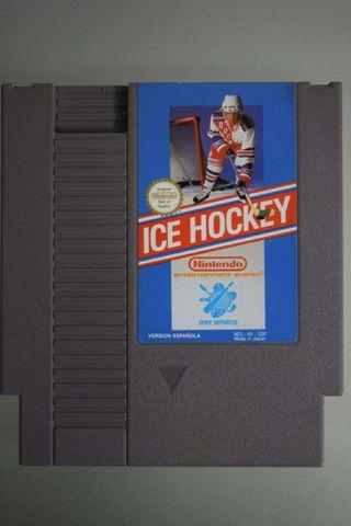 ICE HOCKEY nintendo nes