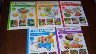 Coleccion libros cocina niños
