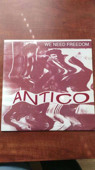 DISCO VINILO MAXI SINGLE ANTICO. WE NEED FREEDOM