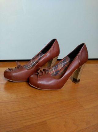 Zapatos de piel talla 39