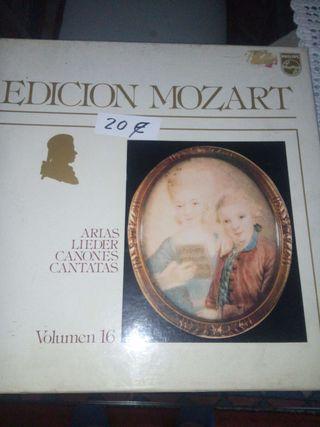 Vinilos edición Mozart 5LPs