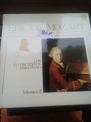 Vinilos edición Mozart 13 LPs