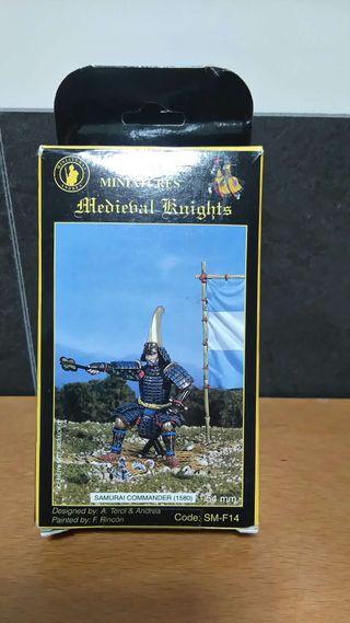 Figura General Samurai metal Andrea