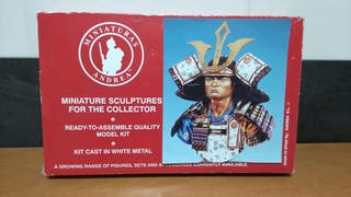 Busto Samurai Warrior 1300 metal Andrea