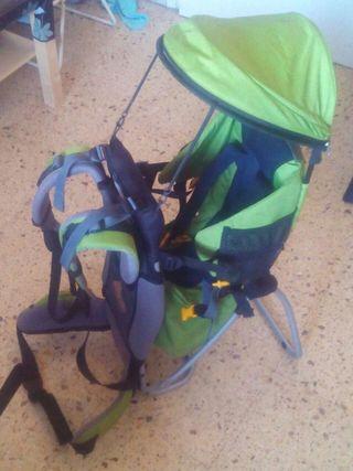 Mochila bebe portabebé para paseo,ruta o trekking.