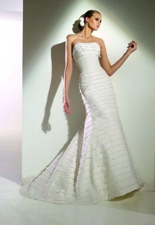 vestido de novia talla 42 de segunda mano en donostia-san sebastián