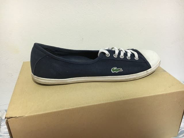 Bambas Lacoste Mujer