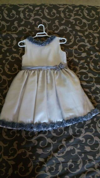 Vestido niña ceremonia talla 8