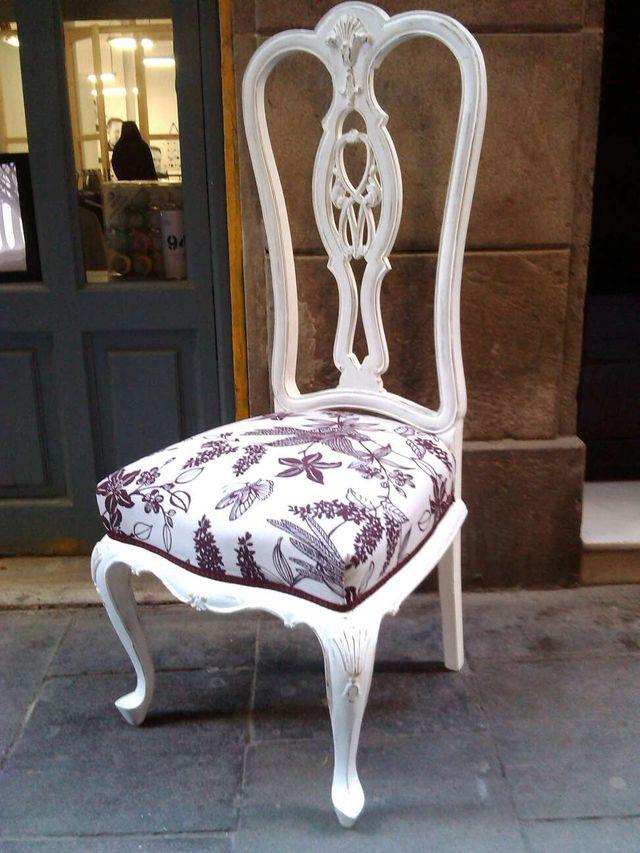 sillas antiguas restauradas de segunda mano por 70 en