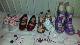Zapatos niña 19 zara botas de agua