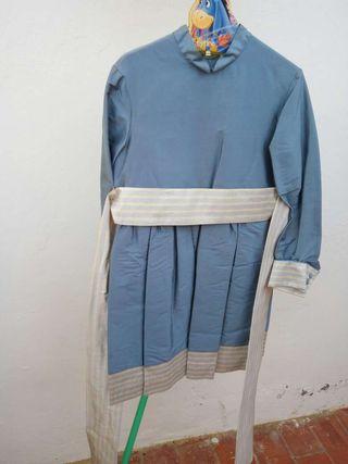 Vestido niña talla 10. Tizza's El Corte Inglés.