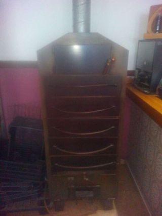 Horno asador de papas asadas