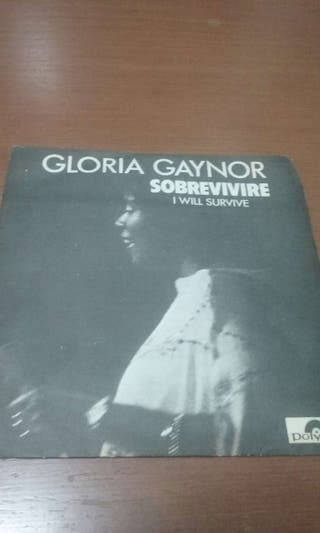 Disco vinilo single Gloria Gaynor