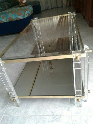 Mesa centro cristal.
