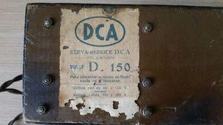 Antiguo elevador reductor eleva reduce dca para radio valvulas