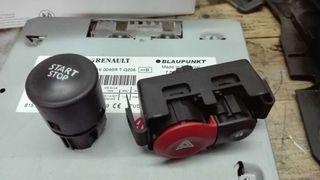 Botones y mandos varios renault clio