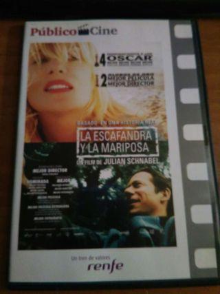 Dvd peli LA ESCAFANDRA Y LA MARIPOSA