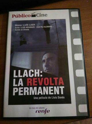 LLACH: LA REVOLTA PERMANENT dvd