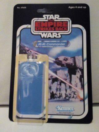 Blíster case Star Wars Kenner AT-AT Commander (The Empire Strikes Back)