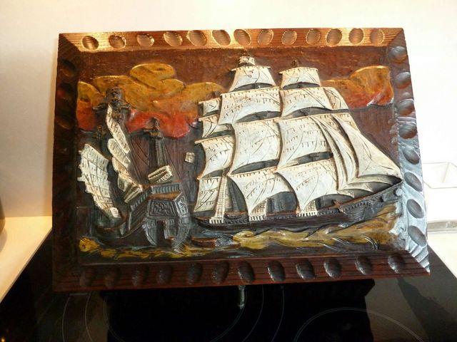 Caja estilo castellano