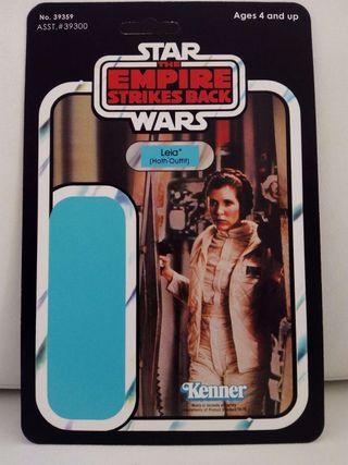 Blíster case Star Wars Kenner Leia (The Empire Strikes Back)