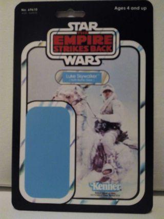 Blíster case Star Wars Kenner Luke Skywalker Hoth Outfit (The Empire Strikes Back)