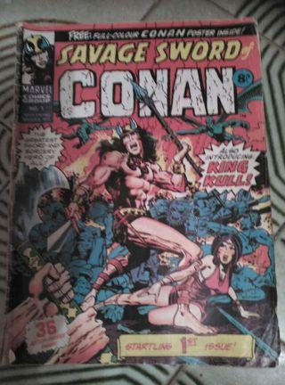 Cómic de Conan año 1975