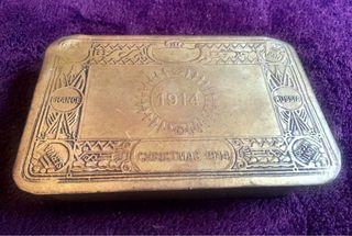Cajita Caja Metalica Vintage