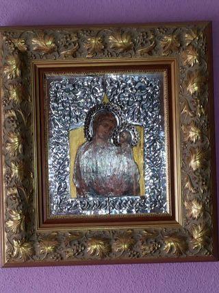 Icono de plata