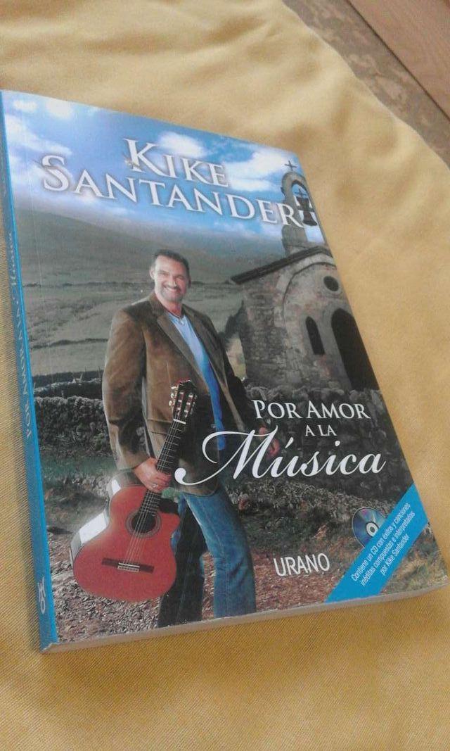 Libro+ CD Kike Santander POR AMOR A LA MÚSICA