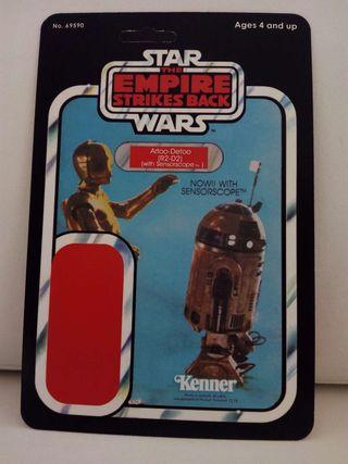 Blíster case Star Wars Kenner R2-D2 Sensorscope (The Empires Strikes Back)