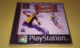 Juego nuevo precintado PlayStation
