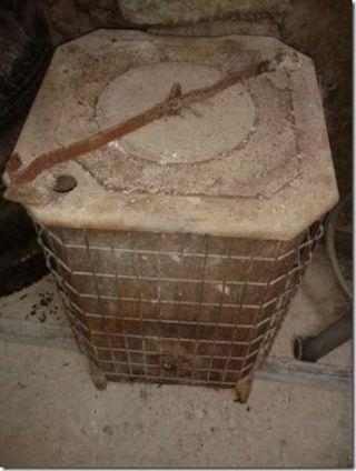 Estufa De Leña Cuadrada