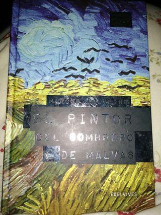 El pintor del sombrero de malvas. Literatura juvenil.