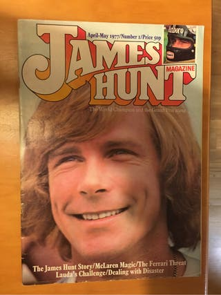 Revista James Hunt Magazine N1 1977