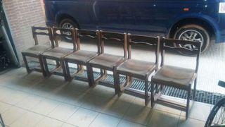 6 sillas salon