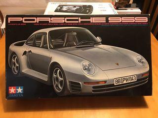 Maqueta Tamiya Porsche 959 1/24
