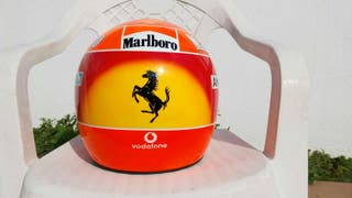 Casco Michael Schumacher 7° Mundial
