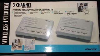 Wireless intercom commax.