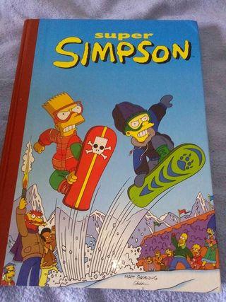 Libro comic los simpsons 5
