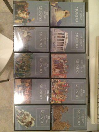 Colección dvd de historia del mundo