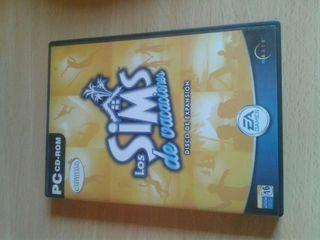 Juego Pc: Los Sims de vacaciones (Disco expansión)