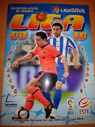 Album cromos COMPLETO liga 09-10