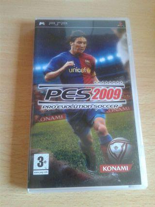 Juego Psp: PES2009