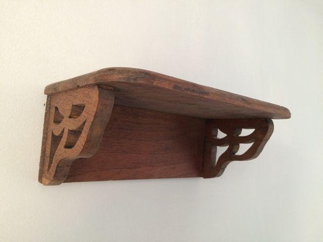 Estanterias Baldas Rusticas De Madera Maciza De Segunda Mano Por 60 - Estanterias-rusticas-de-madera