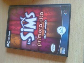 Juego Pc: Los Sims primera cita (Pack expansión)